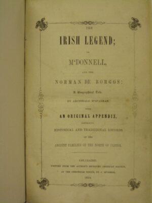 The Irish Legend by Archibald McSparran