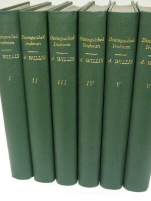 A History of Ireland in the Lives of Irishmen. Six Volumes. by James Willis