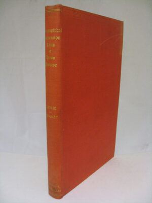 Biographical Succession Lists of the Clergy of Down by Reverend James Leslie