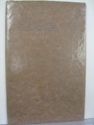 Poems by Seumas O'Sullivan 1930-1938 by Seumas O'Sullivan