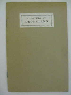 Directions for a Day's Shooting at Dromoland by Sir Edward O'Brien