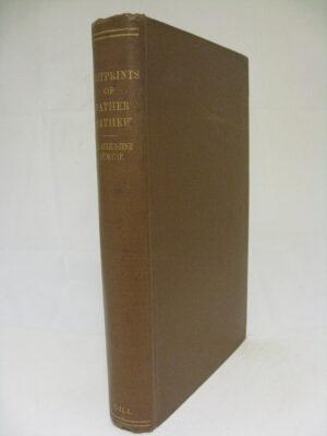 Footprints of Father Theobald Mathew by Father Theobald Mathew (Augustine