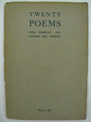 Twenty Poems by Niall Sheridan / Donagh MacDonagh