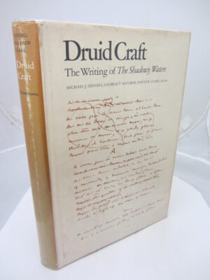 Druid Craft. Inscribed Copy by WB Yeats  (M.J.  Sidnell