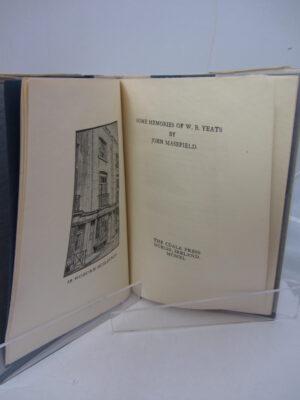 Some Memories of WB Yeats by WB Yeats  (John Masefield)