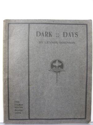 Dark Days by Lennox Robinson