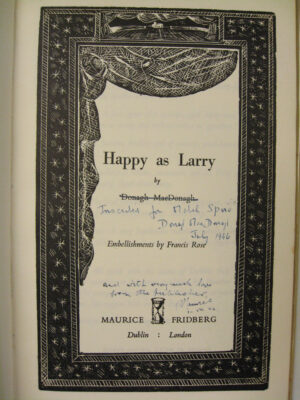 Happy As Larry by Donagh MacDonagh