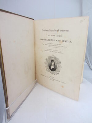 The Irish Version of the Historia Britonum of Nennius by James Henthorn Todd