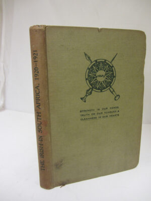 The Irish In South Africa  1920-21 by South Africa