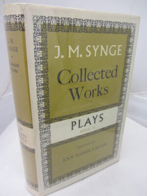 Collected works  Volume 4  Plays by JM Synge