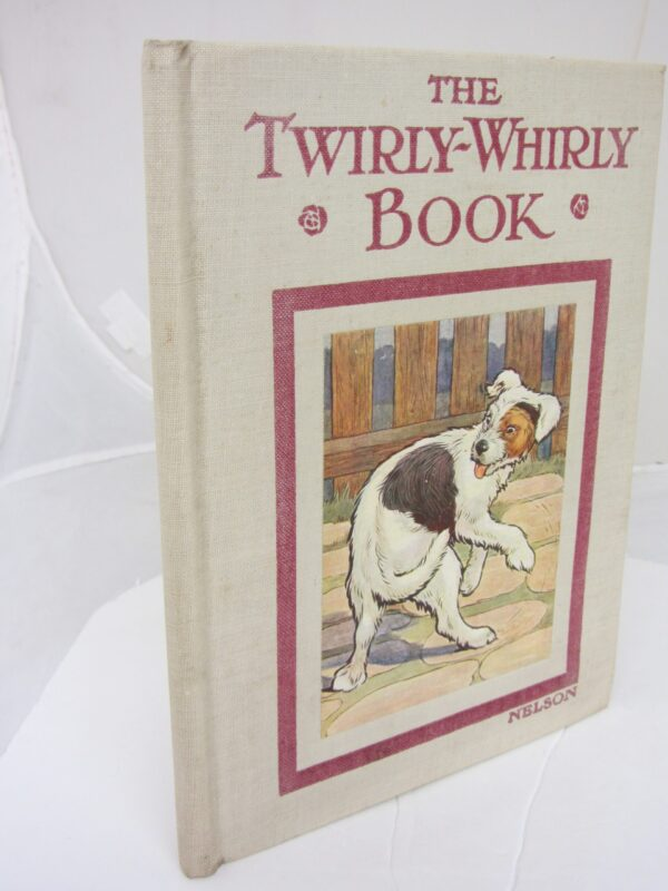 The Twirly-Whirly Book by Jacqueline Clayton