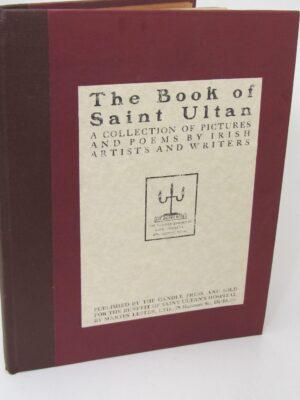 The Book of Saint Ultan. Poems (1920) by Katherine MacCormack (Editor)