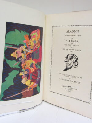 Aladdin or The Wonderufl Lamp and Ali Baba and the Forty Thieves by T Blakeley Mackenzie