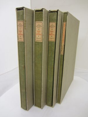 Wilde and Wildeiana. Four Volumes Limited Edition Set by Oscar Wilde