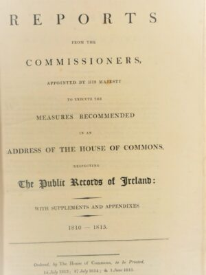 The Public Records Of Ireland (1810-1825) by Public Records Office