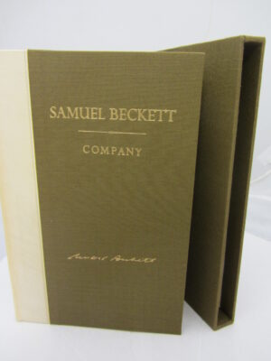 Company. Limited Signed Edition (1980) by Samuel Beckett