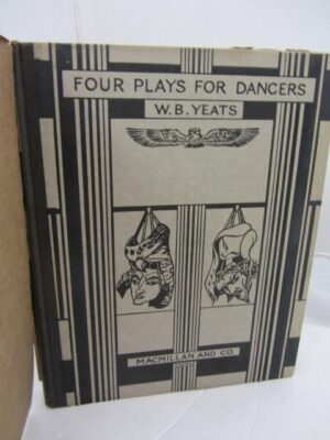Four Plays for Dancers. With illustrations by Edmund Dulac (1921) by W.B. Yeats
