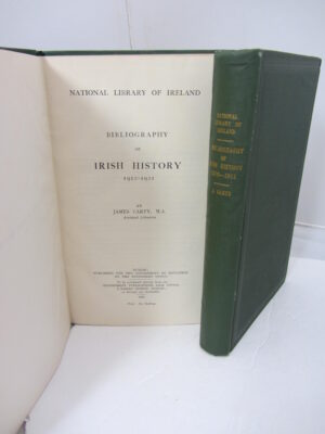 Bibliography of Irish History 1870 -1921. Two Volumes by James Cartry