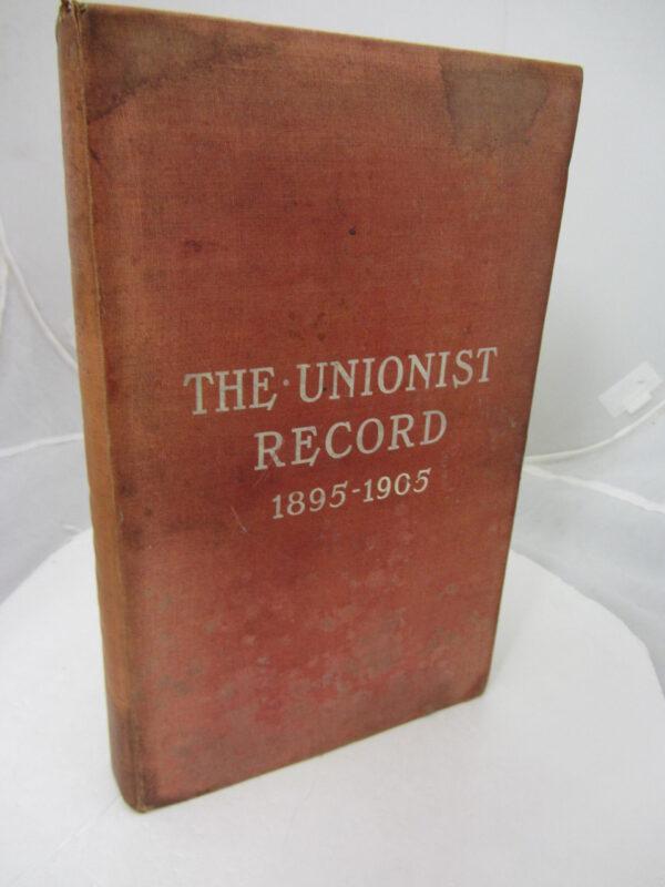The Unionist Record