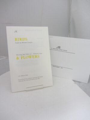 Birds & Flowers. by Michael Longley