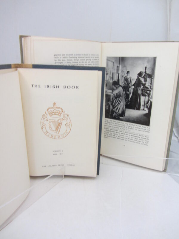 The Irish Book. Volume 1: 1959-1962; Volume 2: 1963. by Irish Book.