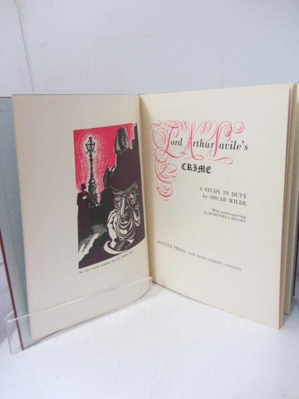 Lord Arthur Savile's Crime. by Oscar Wilde