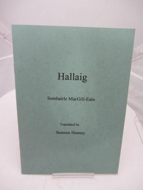 Hallaig. Somhairle MacGill-Eain. Translated by Seamus Heaney. by Seamus Heaney