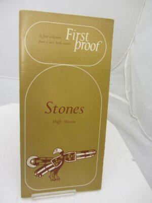 Stones. by Hugh Maxton