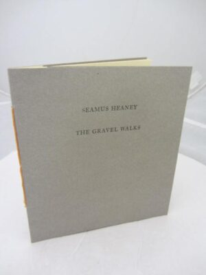 The Gravel Walks.  Limited Edition of 175 numbered copies. by Seamus Heaney