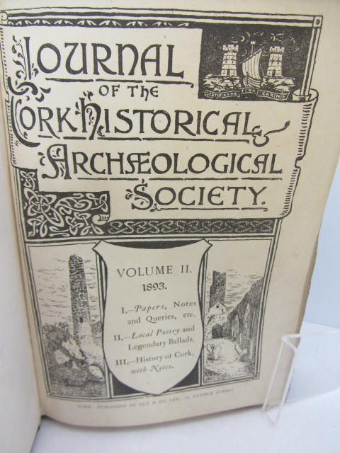 Journal of the Cork Historical and Archaeological Society. Vol.II & III (1893-1894) by Cork Historical and Archaeological Society