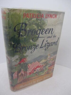 Brogeen and the Bronze Lizard by Patricia Lynch