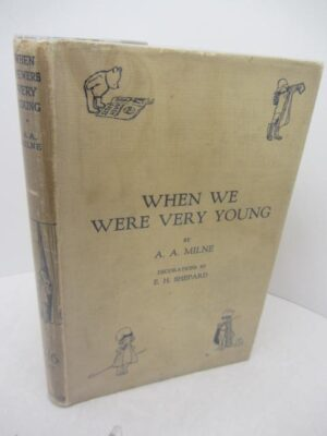 When We Were Very Young.  Third Edition (1924) by A.A. Milne