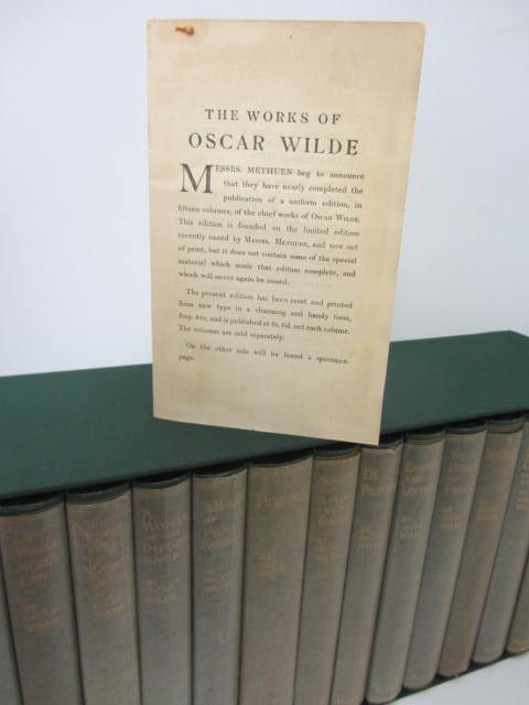 The Works of Oscar Wilde. 15 Volumes Set  (1908-1927) by Oscar Wilde