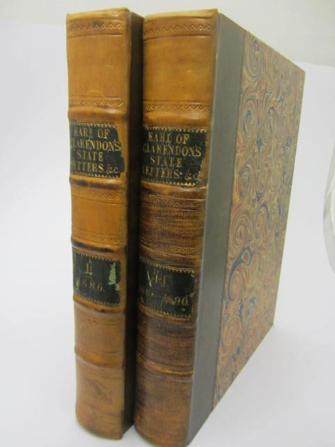 The State Letters of Henry Earl of Clarendon. Two Volumes (1763) by Henry Hyde Clarendon