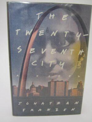 The Twenty-Seventh City.  A Novel.  Signed. Book club edition. by Jonathan Franzen
