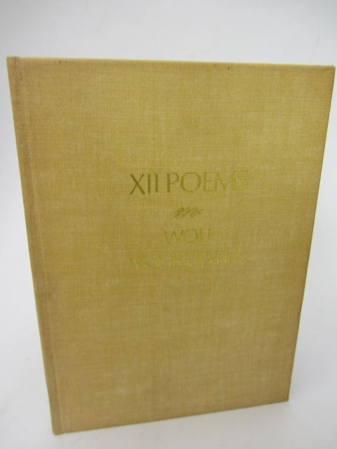 XII Poems. Limited Signed Edition (1972) by Wolf Mankowitz