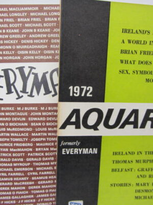 Everyman / Aquarius.  An Annual Religio-Cultural Review. Complete Set by Seamus Heaney (Editor)