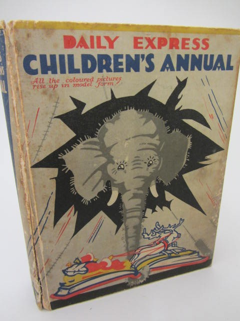 Daily Express Children's Annual. Pop-Up Book (1932) by Louis Giraud