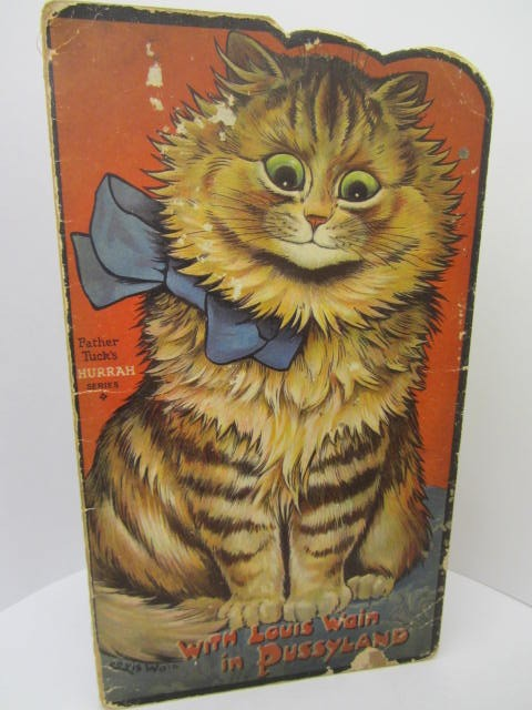 With Louis Wain in Pussyland (1929) by Louis Wain & Norman Gale