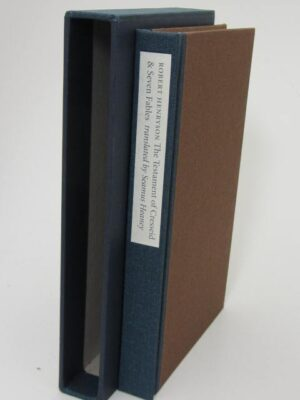 The Testament of Cresseid & Seven Fables. Limited Signed Edition (2009) by Seamus Heaney