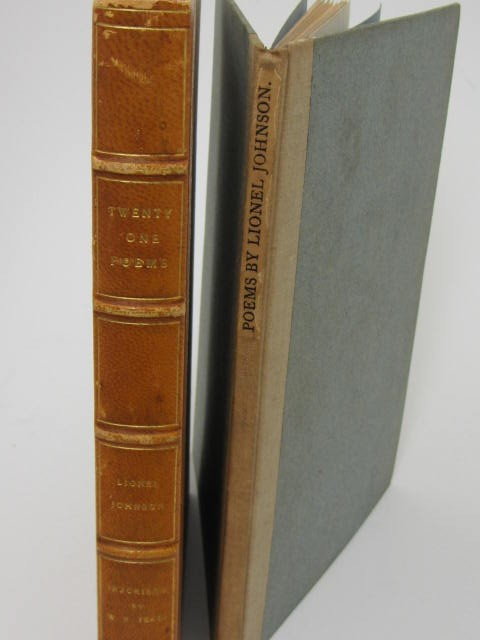 Twenty One Poems by Lionel Johnson. Inscribed By W.B. Yeats (1904) by Lionel Johnson