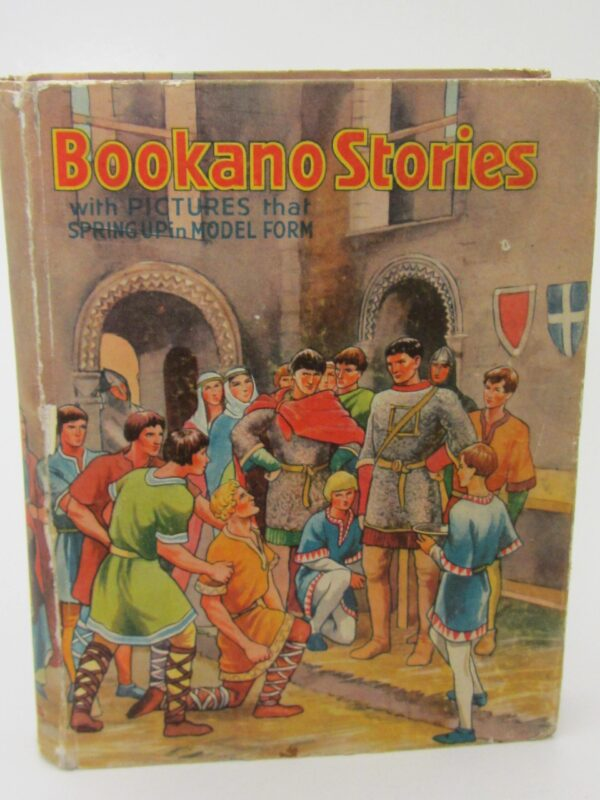 Bookano Stories with Pictures that Spring up in Model Form. No. 10 (Pop-Up Book) by S. Louis Giraud