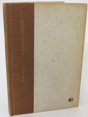 Proust. Limited Signed Edition (1957) by Samuel Beckett
