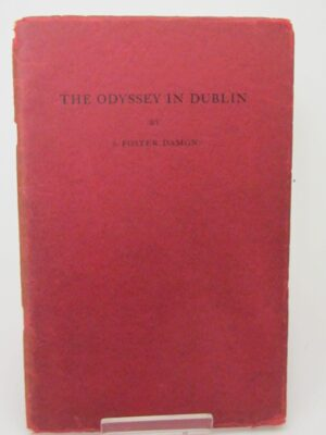 The Odyssey in Dublin (1929) by S. Foster Damon