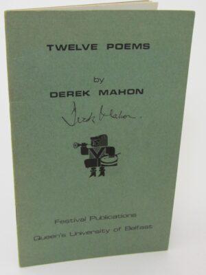Twelve Poems. Signed Copy (1965) by Derek Mahon