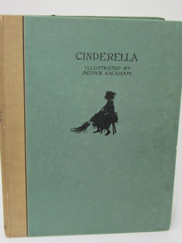 Cinderella. Illustrated by Arthur Rackham. Limited Signed Issue (1919) by C.S.  Evans