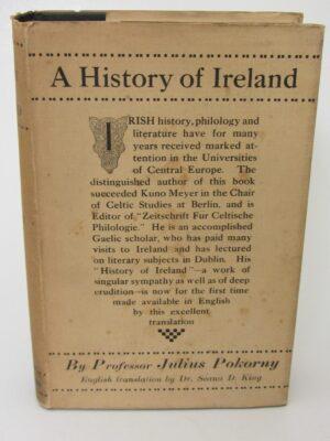 A History of Ireland (1933) by Julius Pokorny