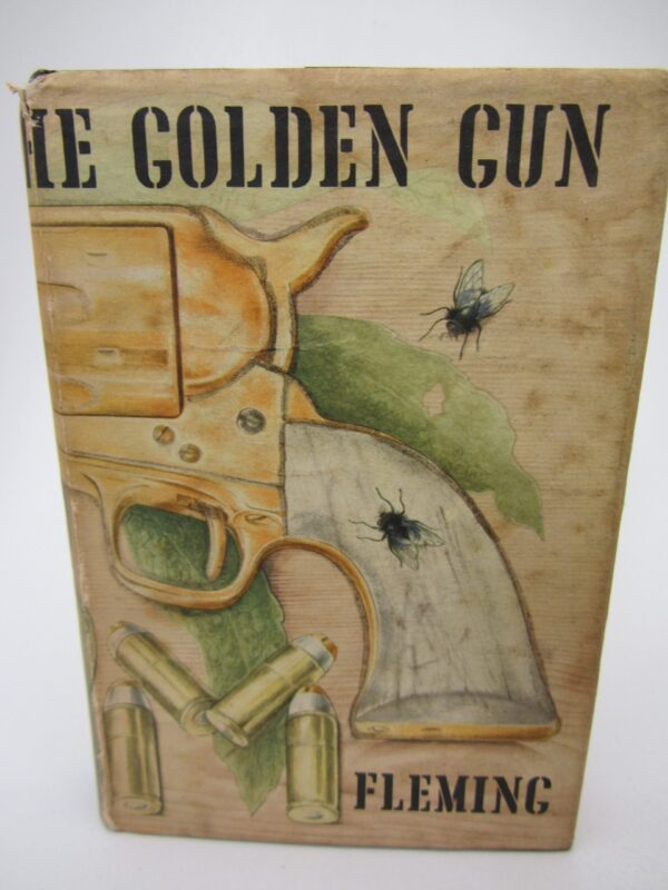 The Man with the Golden Gun. Second Issue (1965) by Ian Fleming