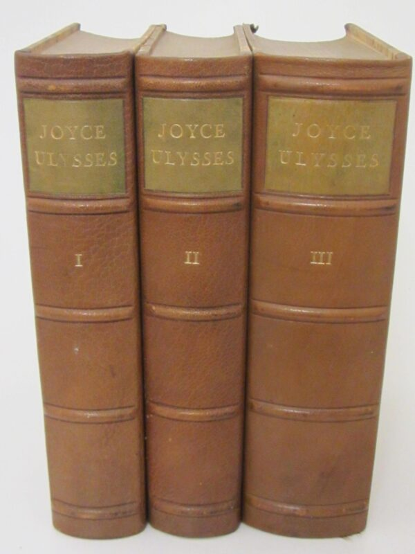 Ulysses. First Translated Edition (1927) by James Joyce