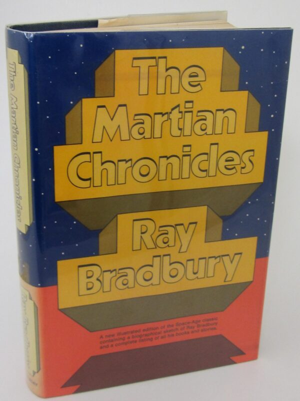 The Martian Chronicles. Author Signed (1973) by Ray Bradbury